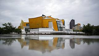 A berlini filharmonikus zenekar épülete