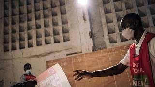 Congo's presidential election: counting begins at a polling station in the capital