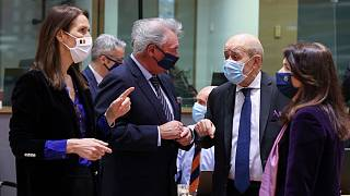 نشست وزرای خارجه اتحادیه اروپا در بروکسل