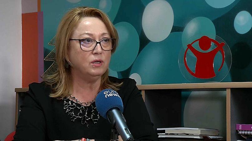 executive president of Save the Children, Romania