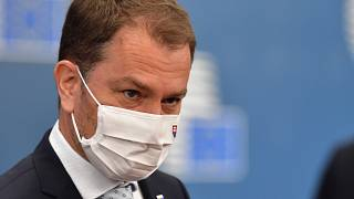 """Igor Matovic said he would be """"willing to resign"""" to solve the coalition crisis."""