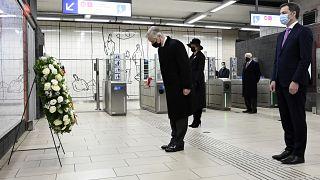 Megemlékezés Brüsszelben a terrortámadások ötödik évfordulóján