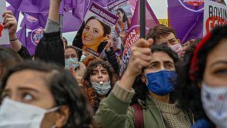 İstanbul'da protesto (arşiv)