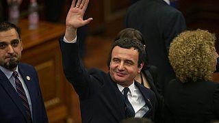Premier ministre du Kosovo, Albin Kurti, février 2021