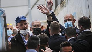 İsrail Başbakanı Binyamin Netanyahu, koronavirüs salgınına rağmen seçim öncesi kampanyasını sürdürdü