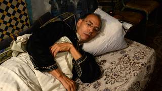 صورة من الارشيف - الناشط والمؤرخ المغربي المسجون المعطي مُنجب