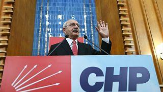 CHP lideri Kılıçdaroğlu grup toplantısında konuşuyor