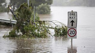 تصاویری از سیل در استرالیا؛ سیدنی به زیر آب رفت
