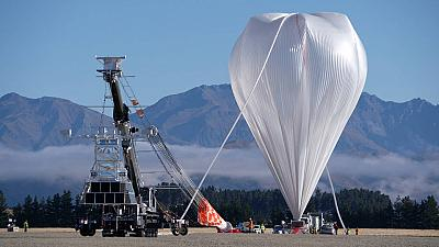 One of NASA's super pressure balloons used in the 2020 New Zealand Campaign. The Harvard University backed project will likely be similar to this balloon.