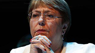 BM İnsan Hakları Yüksek Komiseri Michelle Bachelet.