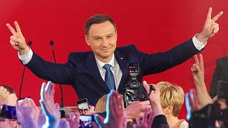 The comments against President Duda were made in a Facebook post in November.