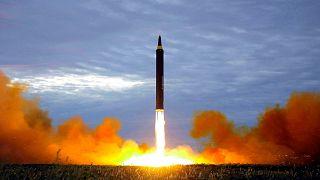 Kuzey Kore'de daha önce yapılan füze denemesi (arşiv)