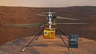 NASA-Mission auf Mars: Bald fliegt Mini-Hubschrauber Ingenuity