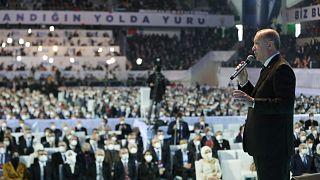 Erdoğan AK Parti 7. Büyük Olağan Kongresinde konuştu