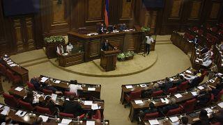 Заседание Национального собрания Армении