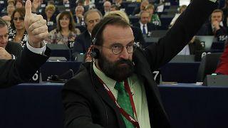 Szájer József az Európai Parlamentben 2016-ban