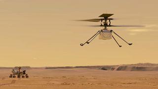 NASA will Hubschrauberflug auf dem Mars noch einmal versuchen