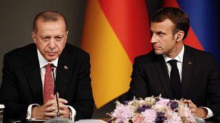 Türkiye Cumhurbaşkanı Erdoğan & Fransa Cumhurbaşkanı Macron / Arşiv