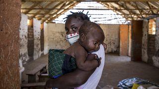 Deslocados no norte de Moçambique