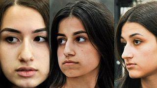 سه خواهر روس که پدر خود را با ادعای تجاوز جنسی به قتل رساندند