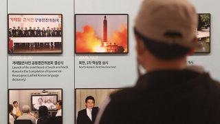 صورة تُظهر إطلاق صاروخ لكوريا الشمالية 24  آذالر / مارس 2021