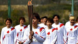 2020 Tokyo Olimpiyatları'nın Japonya'daki meşale turu, Fukuşima'da başladı