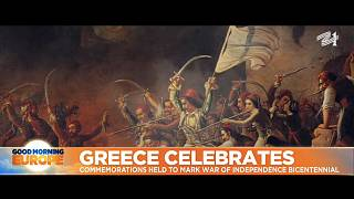 Paiting depicting Greece's war for independence