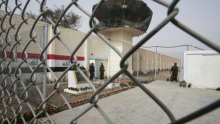 صورة من الارشيف- مدخل سجن أبو غريب في ضواحي بغداد، العراق