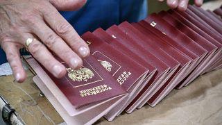"""Российские паспорта на """"Гознаке"""""""
