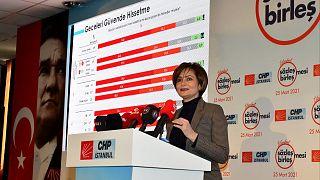 Canan Kaftancıoğlu 'İstanbul Sözleşmesi Dayanışma Ağı'nın tanıtımını yaptı