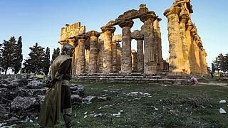 Bulldozers and looting threaten Libya's ancient treasures