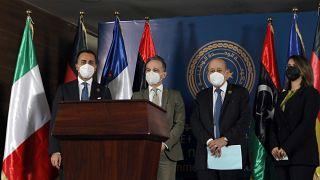 Avrupalı üç bakan Libya'yı ziyaret etti