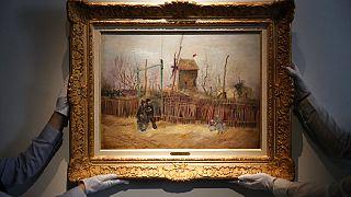 """Картина Винсента Ван Гога """"Уличная сцена на Монмартре"""" ушла с молотка"""