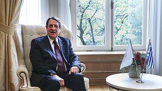 Cypriot President Nicos Anastasiadis