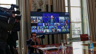 قمة الاتحاد الأوروبي الافتراضية ،25 ماس 2021