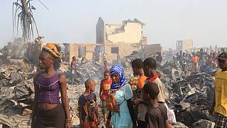 Sierra Leone: EU 'looks at ways to send aid' to vicinity slum by inferno