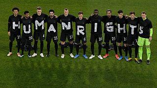 پیام حقوق بشری تیم ملی آلمان خطاب به برگزار کنندگان جام جهانی قطر