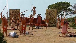 Representación de la batalla de Chakán Putum