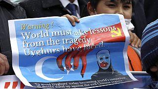 Uygurların Türkiye'deki protestosu