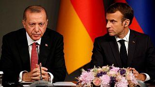 Cumhurbaşkanı Erdoğan, Fransa Cumhurbaşkanı Macron
