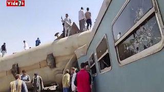 Аналогичная ж/д авария в Египте произошла в феврале 2018 года