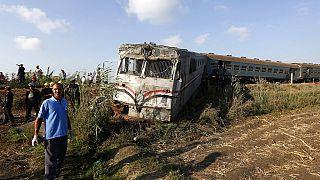 En Égypte, une collision meurtrière entre deux trains