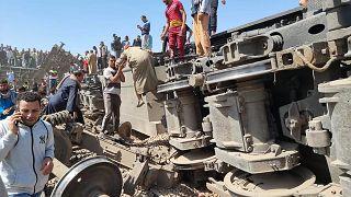 Égypte : collision fatale entre deux trains