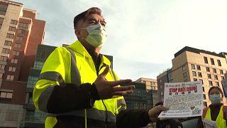 Patrulla para prevenir delitos de odio contra asiáticos en Nueva York