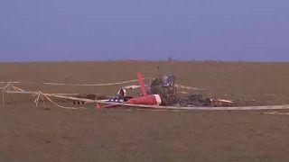 تحطم مروحية تابعة لسلاح الجو الأوروغوياني كانت تحمل لقاحات مضادة لكوفيد-19