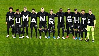 پیام بازیکنان تیم ملی آلمان در دفاع از «حقوق بشر»