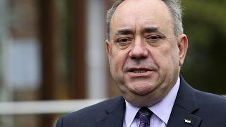 Alex Salmond egy korábbi felvételen, Turriff, Scotland.
