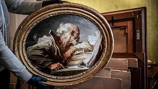 «فیلسوف کتابخوان» اثر ژان اونوره فراگونار