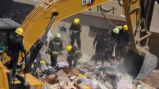 Building collapses in Cairo killing 18, injuring 24