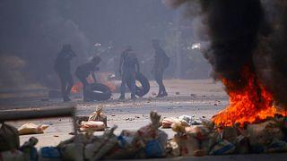 اعتراضها علیه کودتا در میانمار
